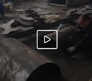 120型桨叶制作视频
